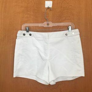 Zara White tailored shorts